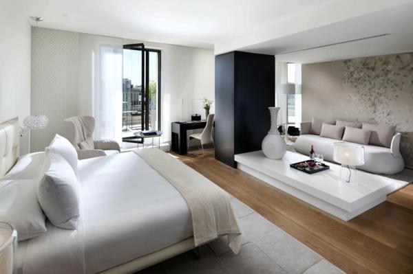 Modernes schlafzimmer einrichten 99 sch ne ideen for Schlafzimmer einrichten beispiele