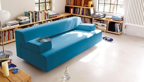 komfortables-und-modernes-schlafsofa-in-schöner-blauen-farbe