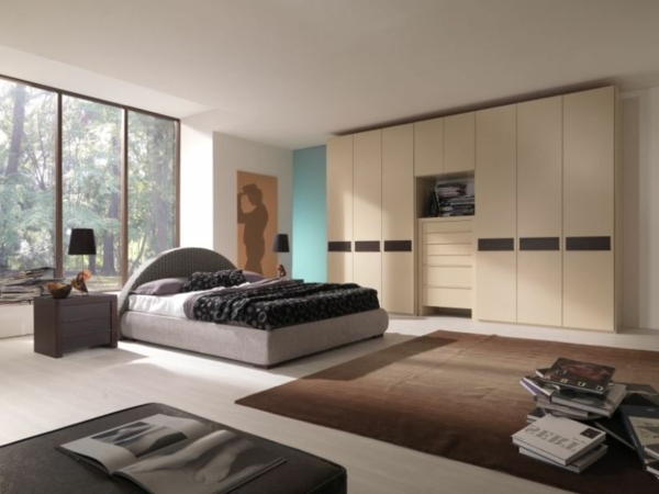 modernes schlafzimmer einrichten 99 sch ne ideen. Black Bedroom Furniture Sets. Home Design Ideas