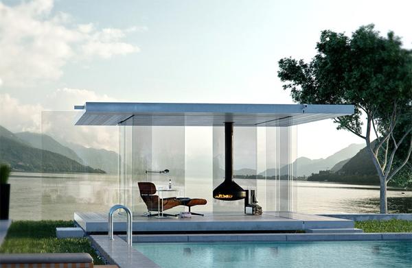pavillion-am-pool-aus-glas