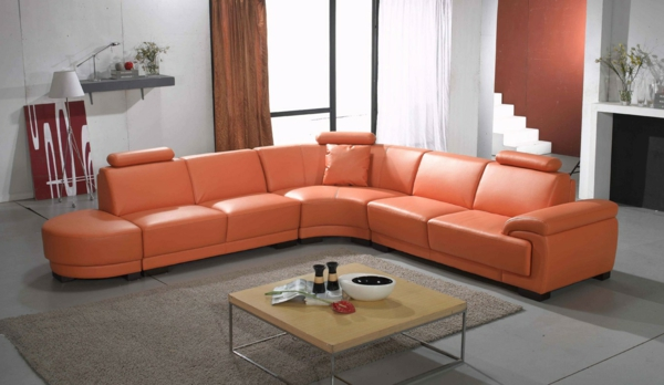 ledersofa-in-orange-extravagantes-design