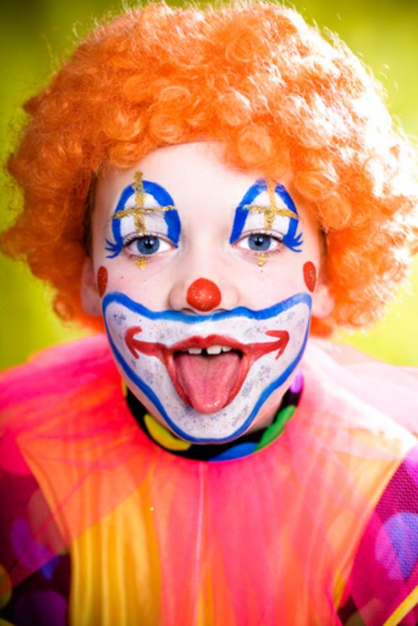 verbl ffende clown schminken vorschl ge. Black Bedroom Furniture Sets. Home Design Ideas