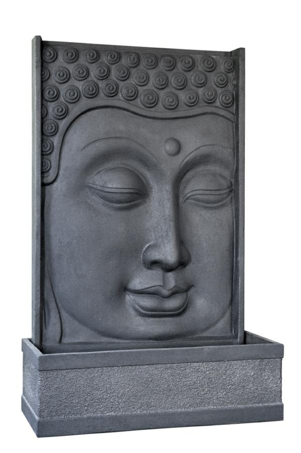 modern-aussehender-Buddha-Brunnen