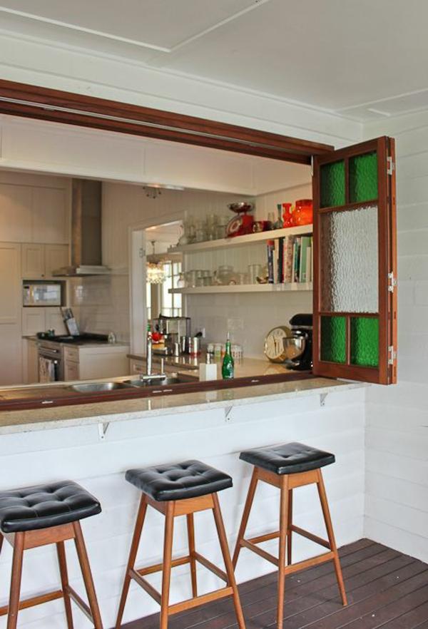 Fantastische Küchenideen - eine Bar zu Hause haben! - Archzine.net