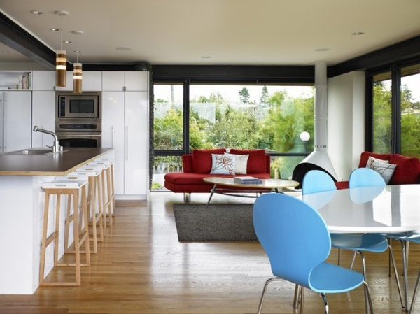 modern-kitchen-room-planning-online-free-floor-plans-blue-dining-chairs-coral-exposed-beams