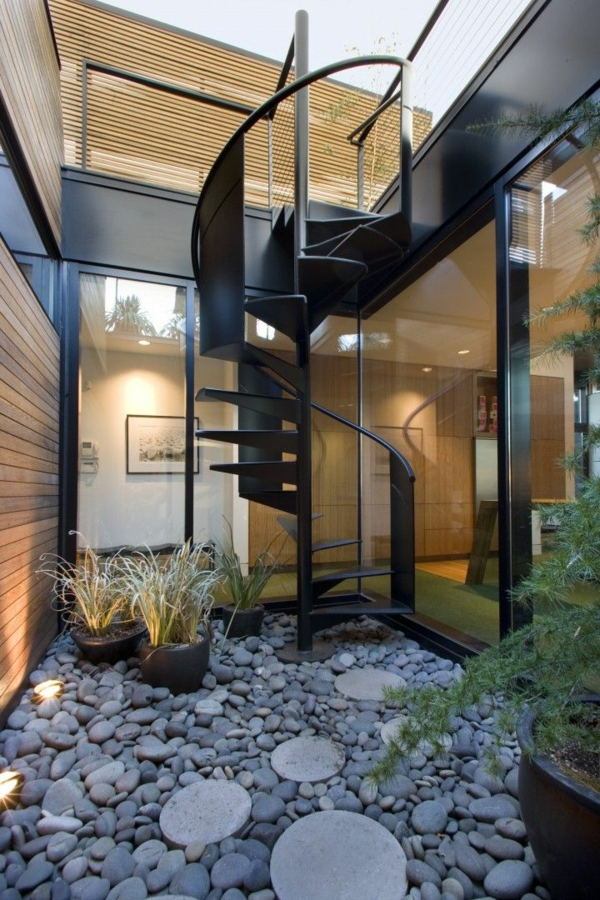 moderne--Außentreppe-exterior-Design-Ideen-