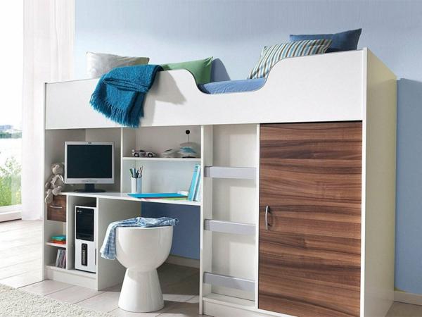 moderne-Hochbetten-mit-super-schönem-Design-Kinderzimmergestaltung