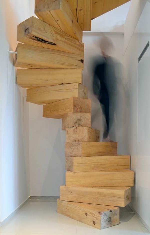 moderne-Innenarchitektur-Innentreppe-Holz-moderne-Einrichtung