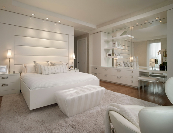 modernes schlafzimmer einrichten - 99 schöne ideen! - archzine
