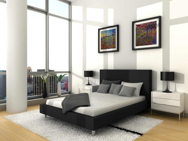 moderne- Schlafzimmermöbel-für-eine-tolle-Ambiente-Luxus-Bett