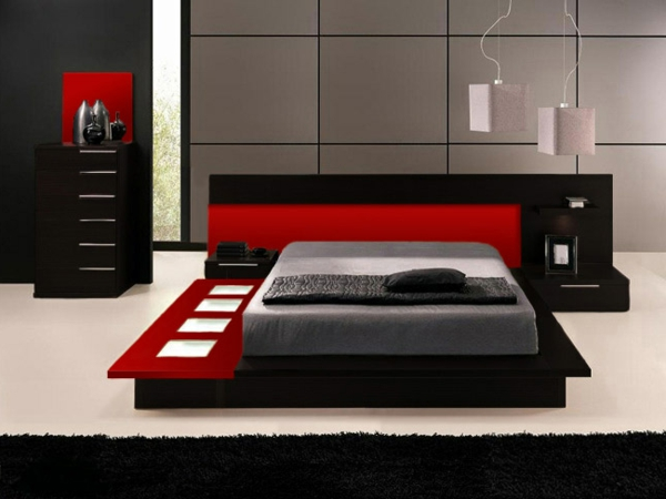 moderne- Schlafzimmermöbel-für-eine-tolle-Ambiente-modernes-Bett