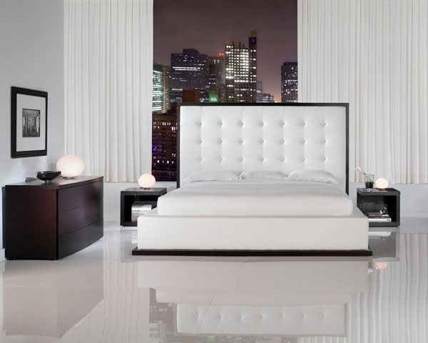 moderne- Schlafzimmermöbel-für-eine-tolle-Ambiente-schönes-Bett