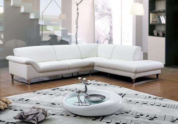 Moderne eckcouch  Ecksofa - 105 wunderbare Modelle für Ihre Wohnung! - Archzine.net