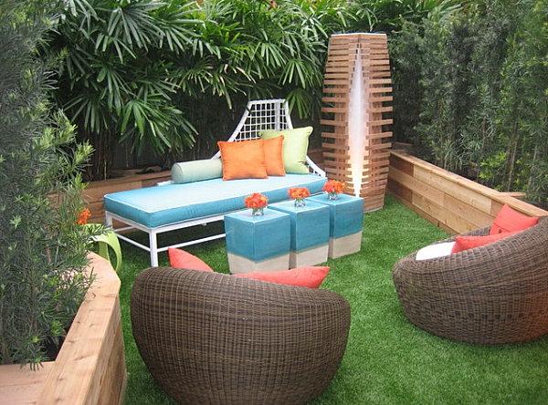 moderne-garten-loungemöbel- zwei-sessel