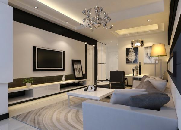 99 wohnzimmer fernsehwand ideen erstaunlich wnde - Interior design ideen ...