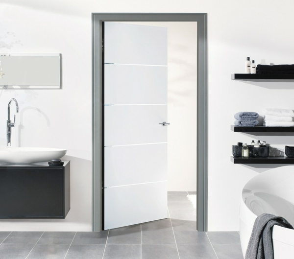 Moderne innentüren weiß  Innentüren in Weiß - schick und elegant! - Archzine.net