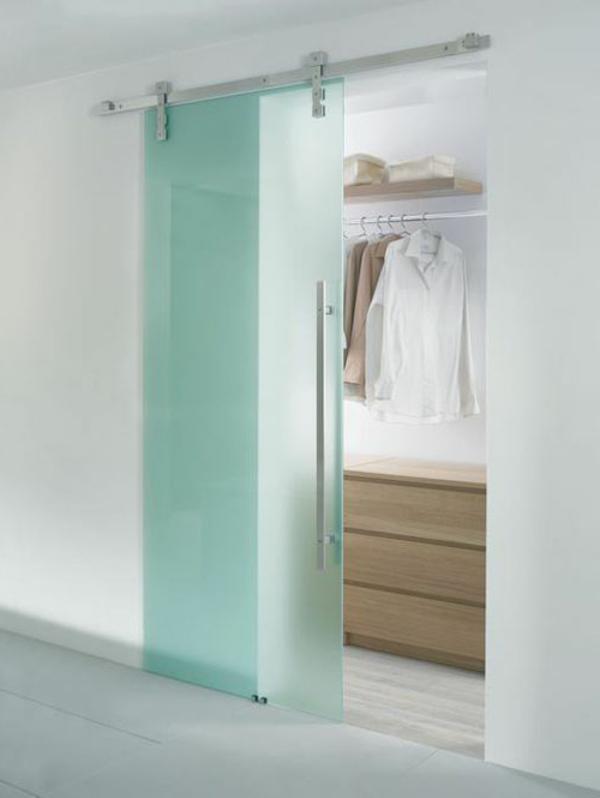 Glasschiebet ren mit modernem design - Moderne zimmerturen ...