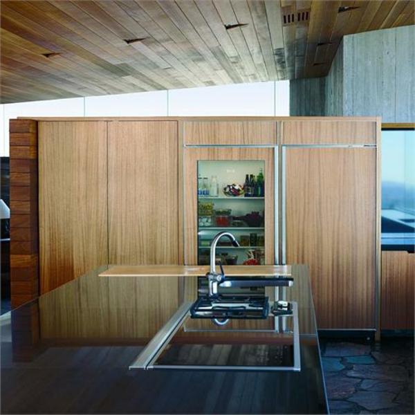 moderner-glastürkühlschrank-in-der-Küche-moderne-Wohnideen-super-moderne-wohnideen-küchenideen-