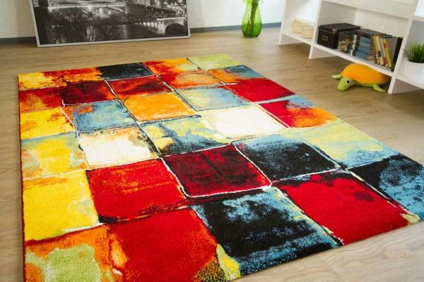moderner-teppich-quadrate