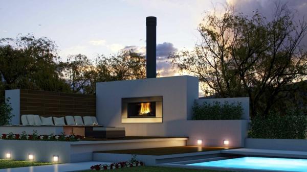 feuerstelle im garten eine richtig tolle sache. Black Bedroom Furniture Sets. Home Design Ideas