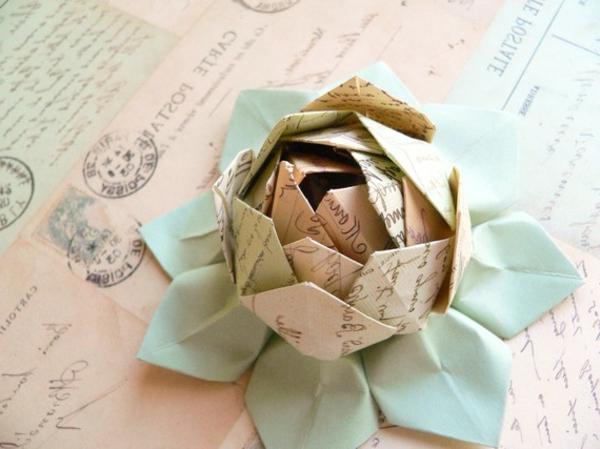 origami-briefpapier-blume