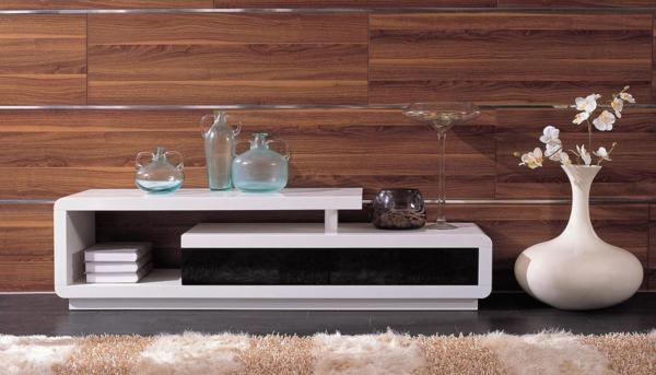 fernsehtisch 22 super effektvolle modelle. Black Bedroom Furniture Sets. Home Design Ideas