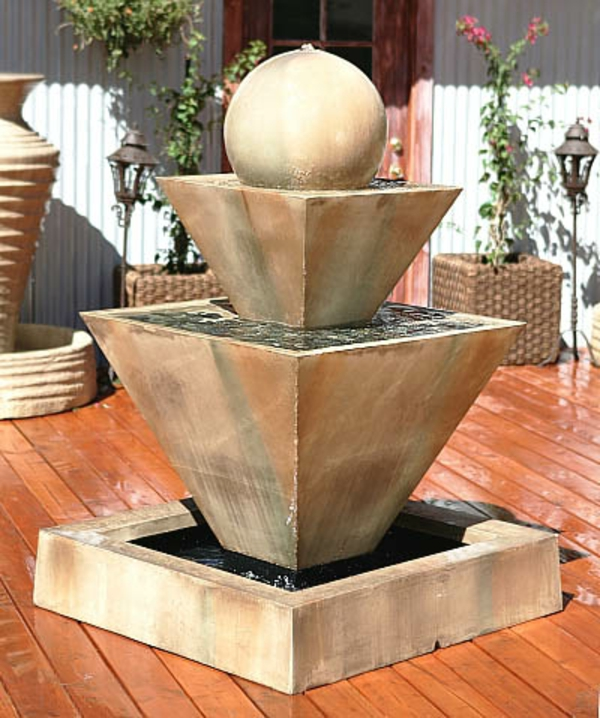 coole form für springbrunnen
