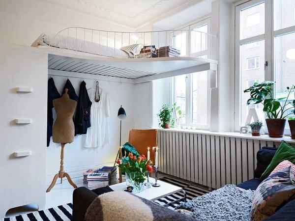 Pflanzen im schlafzimmer es lohnt sich f r sicher - Deco kleine studio ...