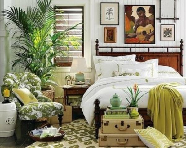 pflanzen-im-schlafzimmer-neben-dem-weißen-bett