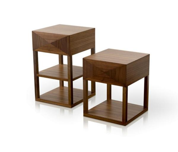 nachttische design cheap nachttische herbert hirche with. Black Bedroom Furniture Sets. Home Design Ideas