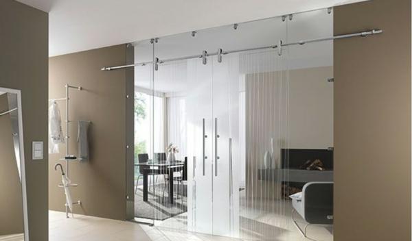 praktische-gleittüren-glas-super-schöne-modelle-zimmertüren