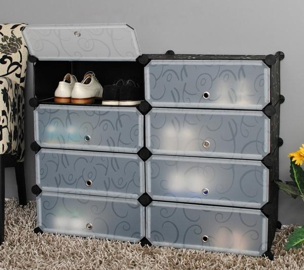 praktische-und-effektvolle_Dielenmöbel-mit-schönem-Design-Schuhschrank