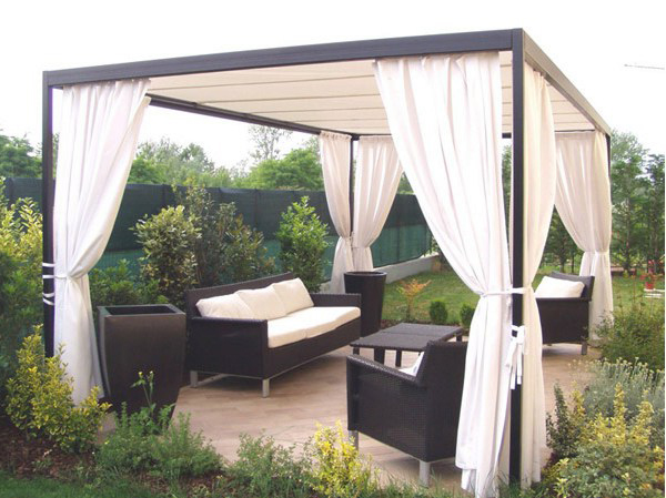 gartenpavillion faszination f r einen noch edleren garten. Black Bedroom Furniture Sets. Home Design Ideas