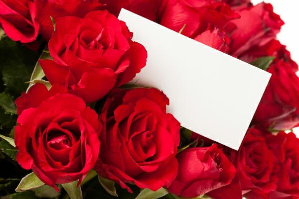 rosen-strauß-rot-weißer-zettel