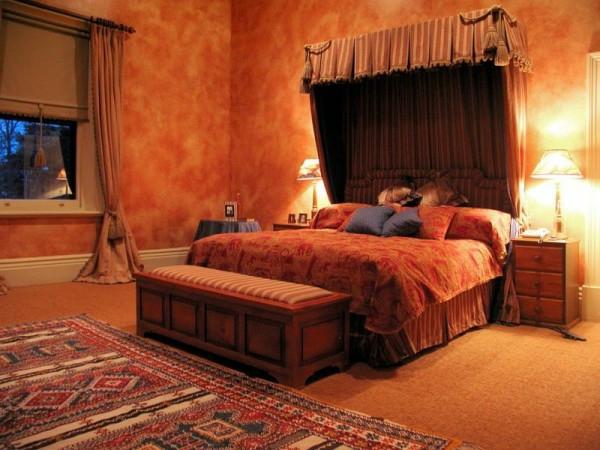 romantisches-schlafzimmer-design-einmaliges-bett-design