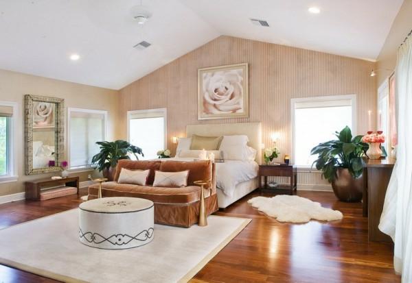 Romantisches schlafzimmer design 56 bilder - Braunes schlafzimmer ...