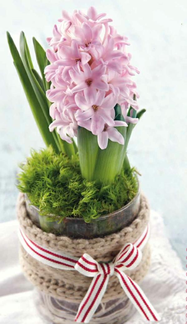 rosane-blüten-in-stylischem-blumentopf