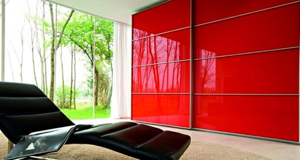 roter-Kleiderschrank-mit-Schiebetüren-schöne-Ideen-für-Interior-Design