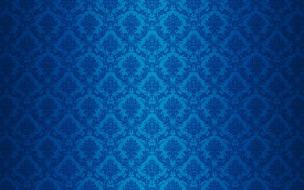 samt-tapete-und-samt-möbel-blaue-farbe