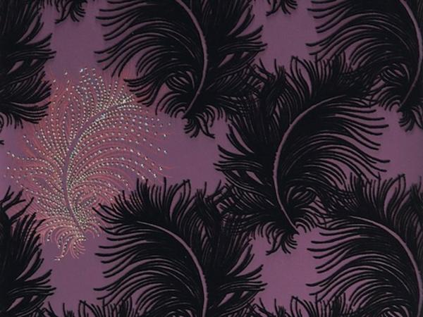 Lila Tapete Schlafzimmer ~ Kreative Bilder Für Zu Hause Design
