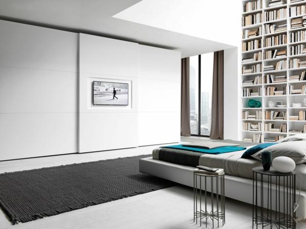 schöne-Einrichtungsideen-Kleiderschrank-Weiß-mit-tollem-Design--