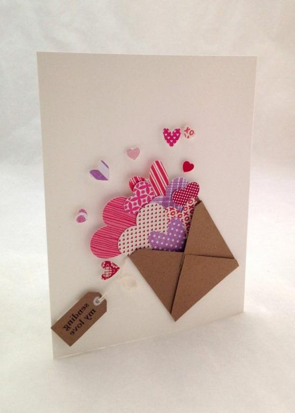 Schöne Ideen Valentinstag   Deko Herzen Ideen