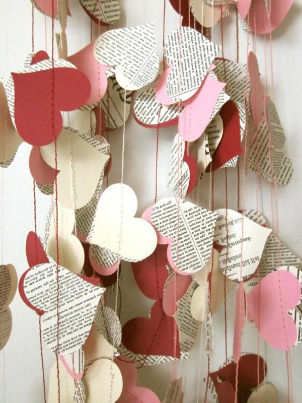 Charmant  Schöne Ideen Valentinstag   Deko Herzen Ideen