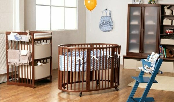 wundersch ne babybetten f r den ruhigen schlaf ihres. Black Bedroom Furniture Sets. Home Design Ideas