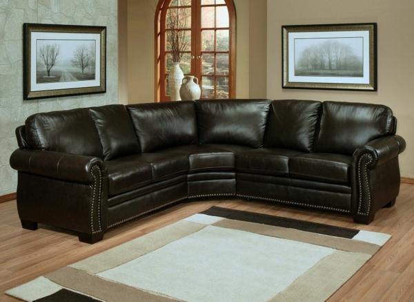 schönes--design-ledercouch-braun-schöne-einrichtungsideen-für-das-wohnzimmer