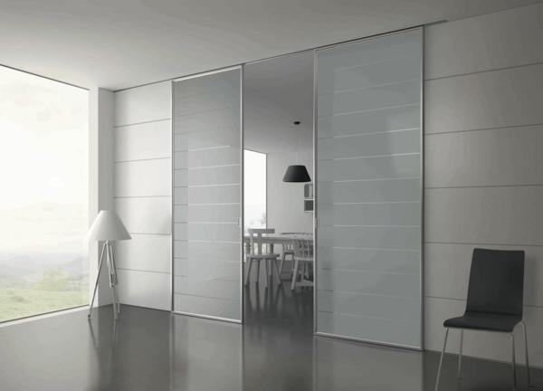 Schiebetür glas design  Glasschiebetüren mit modernem Design ! - Archzine.net