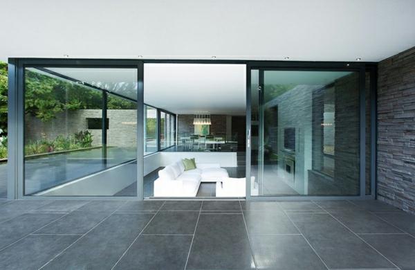 --schiebetüren-glas-tolles-design-wohnideen-innendesign