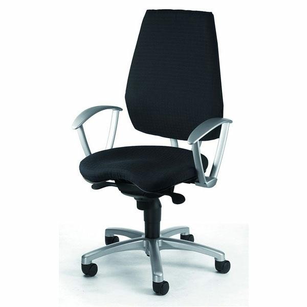 schwarzer-komfortabler-Drehstuhl-mit-modernem-Design