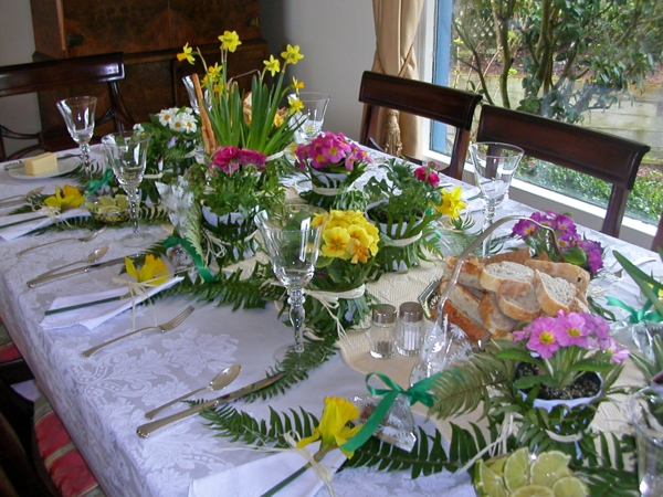 Table Decoration Spring 100 Charming Ideas To Make Yourself
