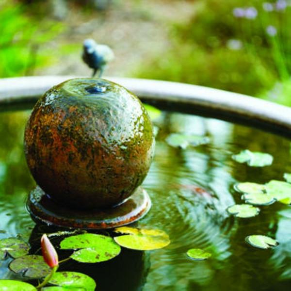 foto vom nahen genommen - springbrunnen